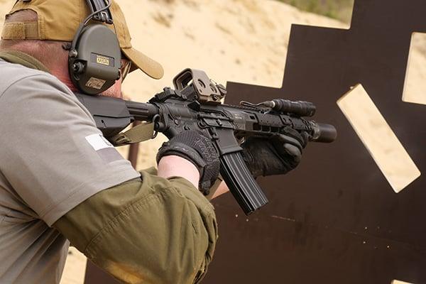 Szkolenie strzeleckie karabin średnio zaawansowany