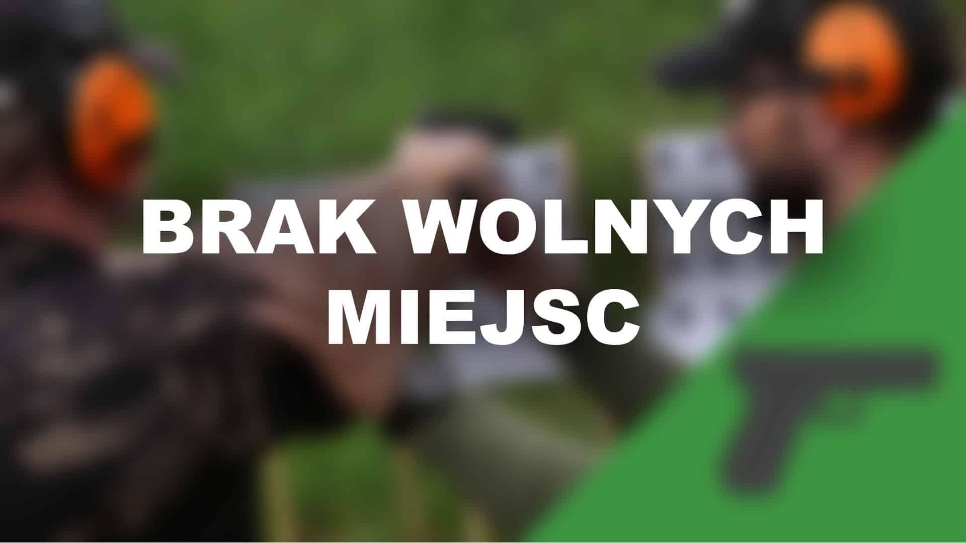 Zdjęcie ze szkolenia pistolet podstawowy CMMS (Combat Marksmanship Course). Jest to szkolenie strzeleckie przeznaczone dla osób na każdym poziomie zaawansowania, wprowadzające w system CMMS.
